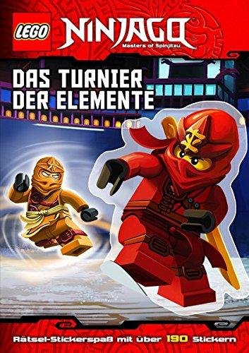 LEGO® NINJAGO™ Das Turnier der Elemente: mit Stickerbögen