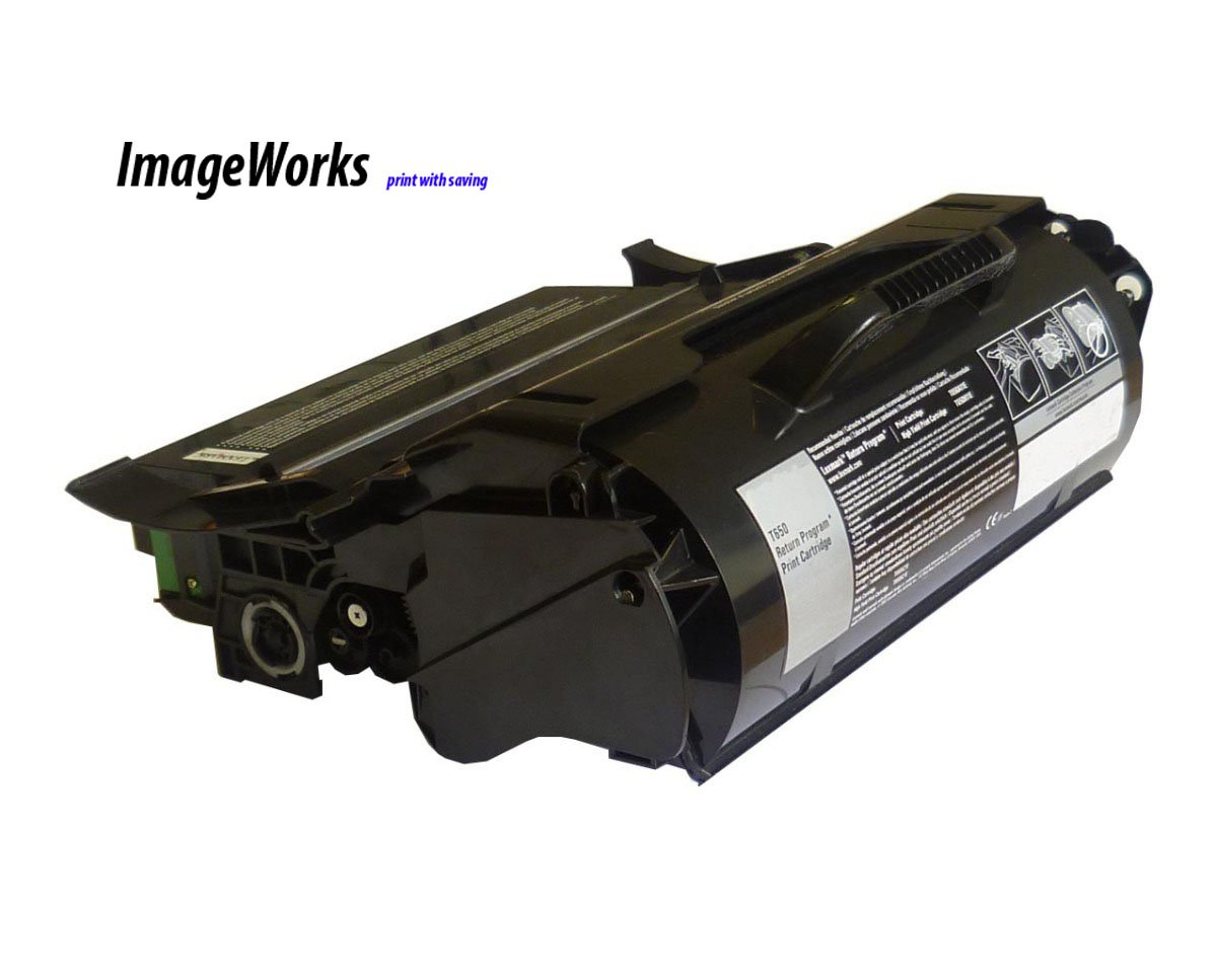 Lexmark T650 T652 T654 T656 Toner T650h11a 25k Hiyield Remanufactured by Ink & Toner Supply B004CHJFT4