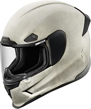 Icon Airframe Pro Construct - Casco de moto, color blanco