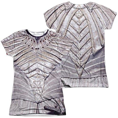 White Klingon Uniform Women's Sublimated T Shirt ()