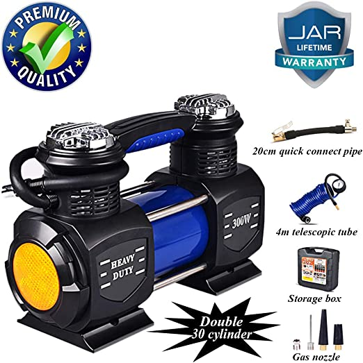 12V Electronic Car Tyre Inflator Pump Digital Portable Air Compressor Pressure