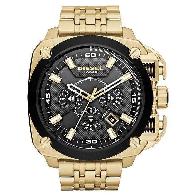 Amazon.com: Watch Diesel Mens BAMF Watch Quartz Mineral Crystal DZ7378 DZ7378: Watches