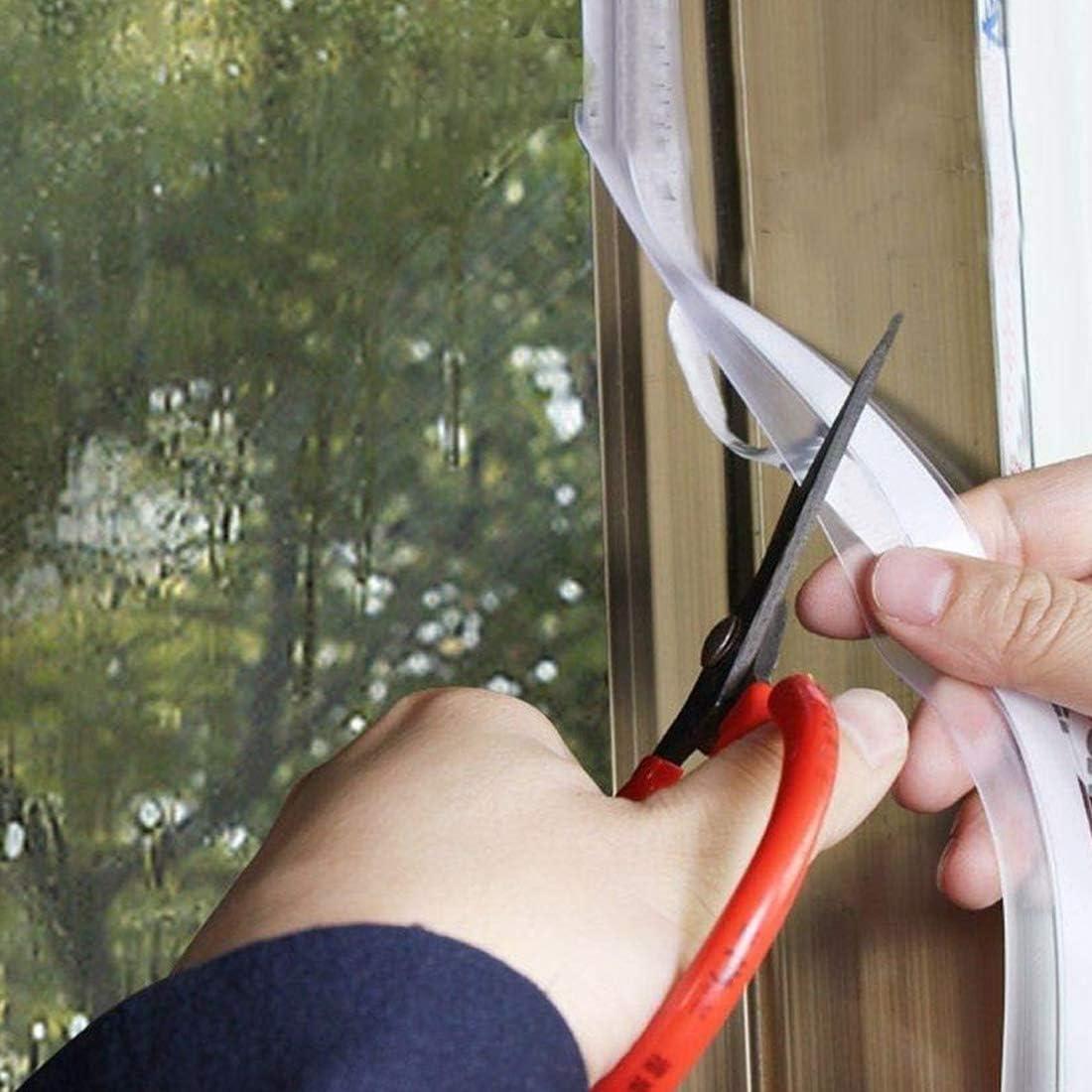 Pellisilot Door and Window Seals Self-adhesivedoor Seams Windproof Stickers Window Glass Door Soundproof Waterproof Strip