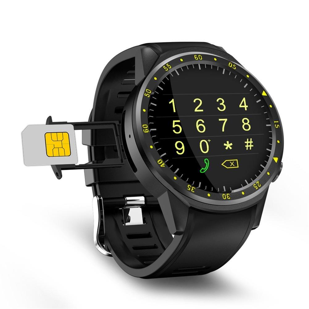 zhuotop reloj inteligente deporte reloj inteligente GPS inteligente banda reloj brújula TF tarjeta por Android IOS: Amazon.es: Deportes y aire libre