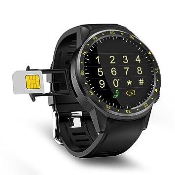 zhuotop reloj inteligente deporte reloj inteligente GPS inteligente banda reloj brújula TF tarjeta por Android IOS