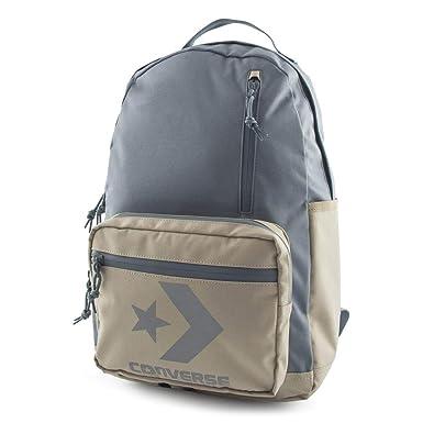 Converse Unisex Mochila Block Essential Backpack Vintage Khaki Beige gris: Amazon.es: Ropa y accesorios