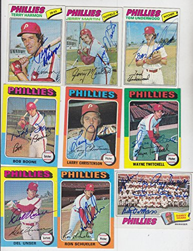 (1977 TOPPS SIGNED CARD TOM UNDERWOOD PHILLIES YANKEES ORIOLES A'S BLUE JAYS 217)