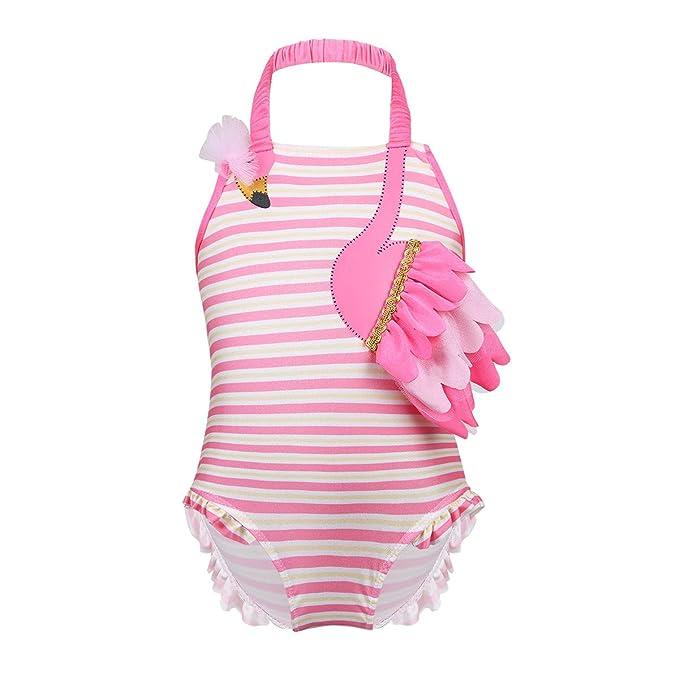 YiZYiF Bañador Bebe Conjunto Bikini Disfraz de Flamenco Traje de Baño Una Pieza para Bebé Niña 3 Meses- 3 Años: Amazon.es: Ropa y accesorios