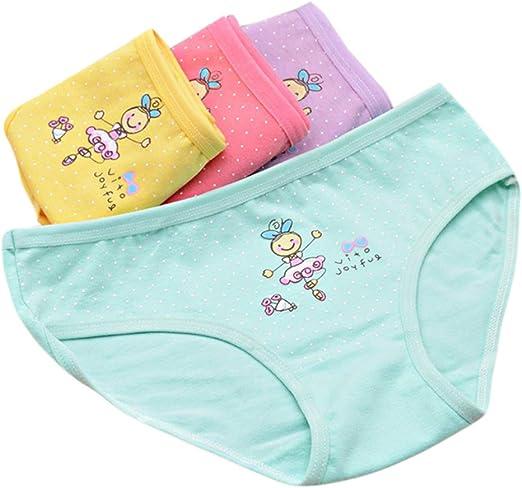VIccoo Ropa Interior de algodón, Calzoncillos para niños Dibujos Animados Dance Girl Algodón Triángulo Ropa Interior Baby Girls Bragas: Amazon.es: Hogar