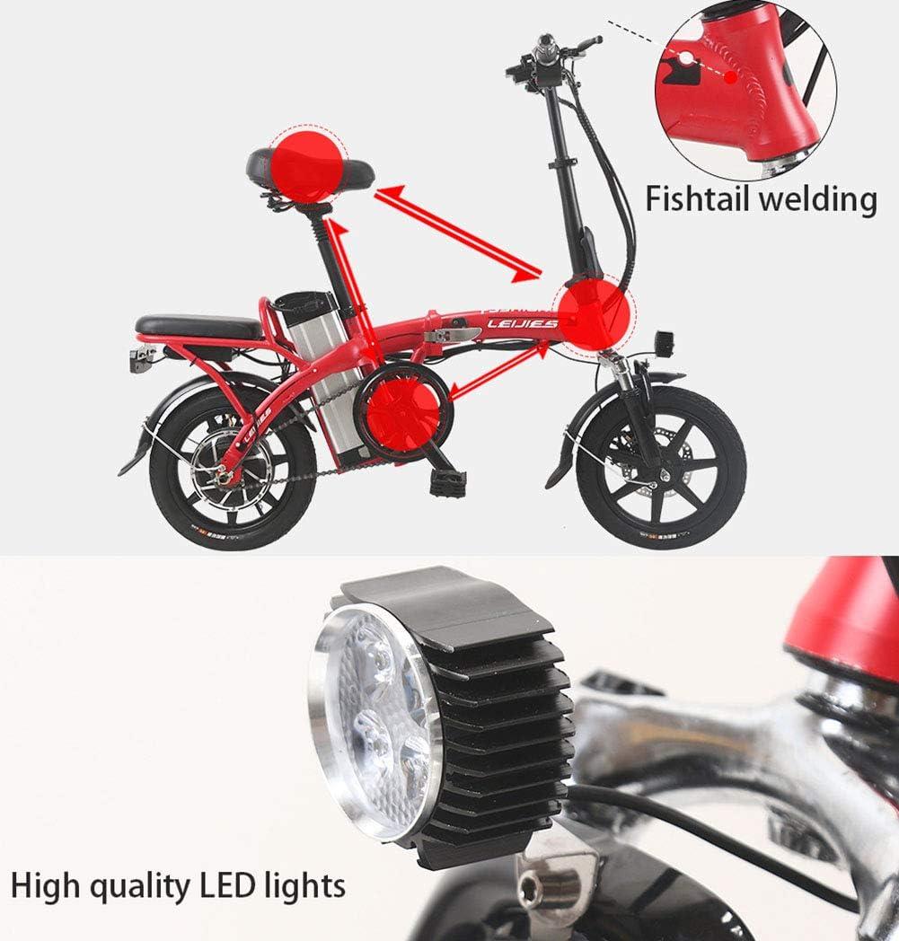 Amazon.com: FJW - Mini bicicletas eléctricas unisex de 14 ...