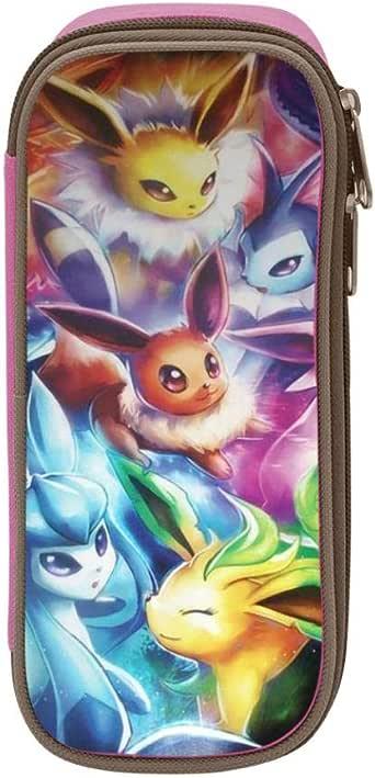 Pokemon Eevee - Estuche escolar para estudiantes y niños, Rosa, ONE_SIZE: Amazon.es: Amazon.es