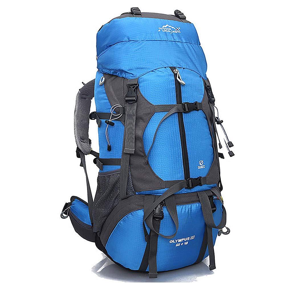 LCPG Rucksäcke Outdoor-Rucksack Reisen Hochleistungs-Multifunktionsartikel gelten für einen Sportfan (Farbe   Blau)