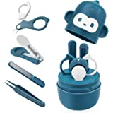 Bamoer Baby Nail Kit, Baby Nail Care Set 4-in-1 Including Baby Nail Clipper, Scissor, Nail File & Tweezers, Baby…