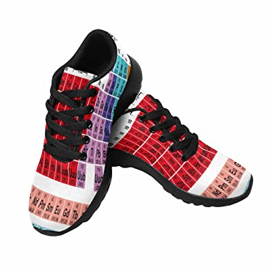 Amazon interestprint womens trail running shoes jogging amazon interestprint womens trail running shoes jogging lightweight sports walking athletic sneakers periodic table of the elements trail running urtaz Gallery