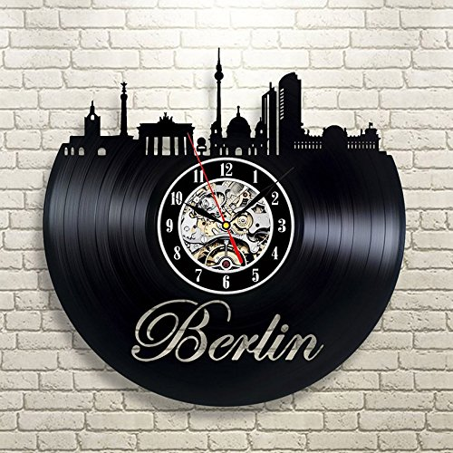 Jedfild The lovely art wall clock of the city
