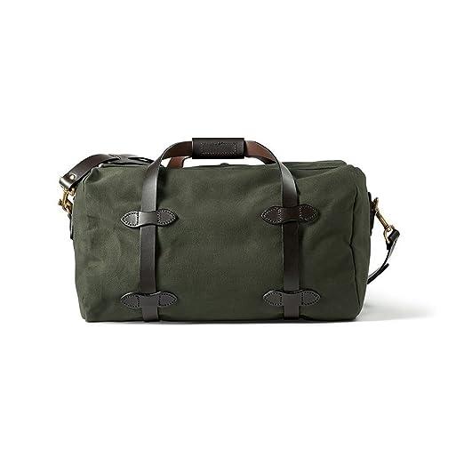 30df6916f6d Amazon.com   Filson Men s Small Duffel Bag, Otter Green, One Size   Travel  Duffels