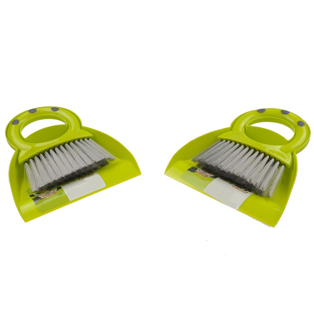 Pekky Mini Dustpan and Broom Set, 2 Packs Pekkyly H&PC-81949