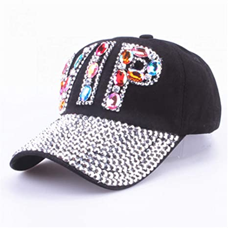 WYKDA Venta al por Mayor Hat Rhinestone Imprimir Denim Hat Rivet ...