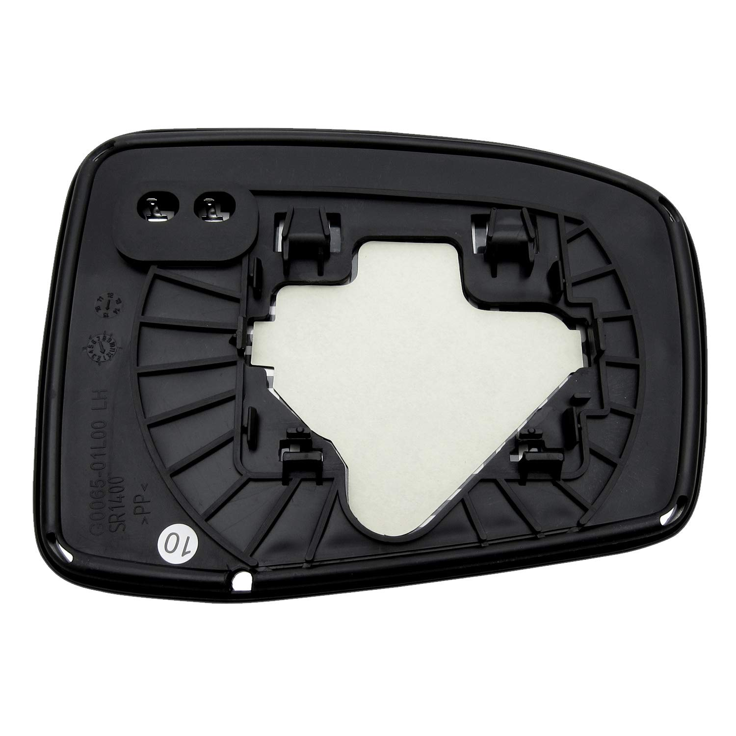 New Replacement Driver Side Mirror Heated Glass W Backing Compatible With 2005-2010 Honda Odyssey Sold By Rugged TUFF