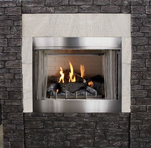 Pleasant Hearth Ofw155h Chesterfield Outdoor Wood Burning