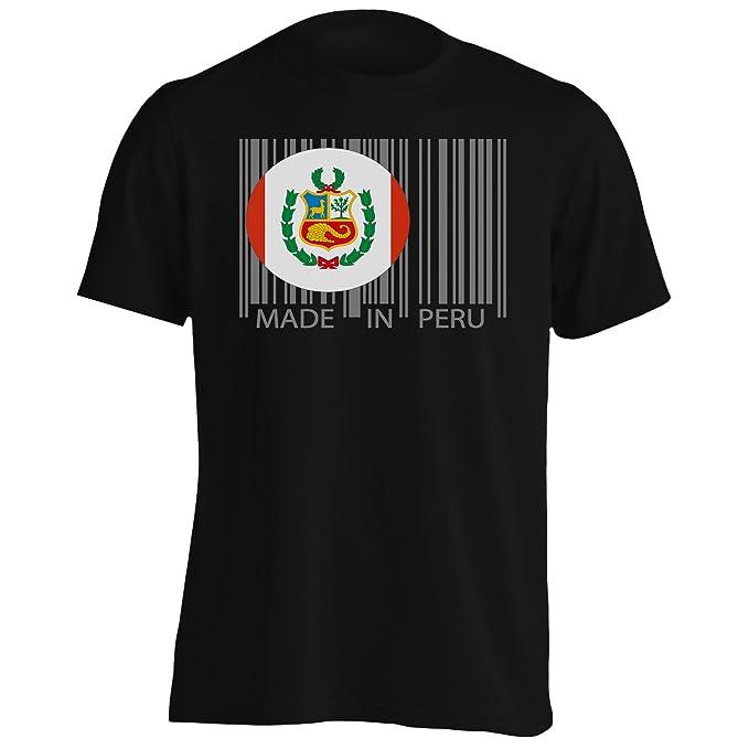 Hecho en el mundo del viaje de perú novedad divertida Camiseta de los hombres uu40m