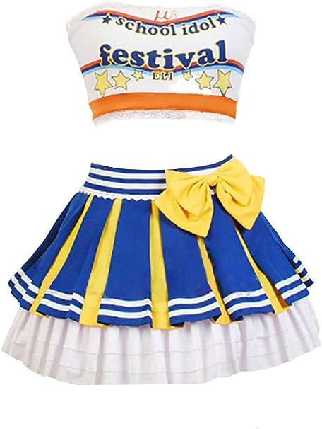 Amazon.com: UU-Style LoveLive. Disfraz de uniforme de ...