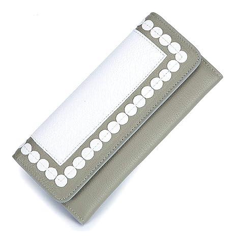 Billetera de mujer Billetera de cuero para mujer, sección ...