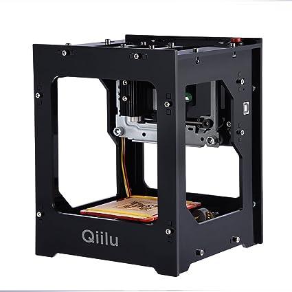 Amazon Com Qiilu 1500mw Laser Engraver Printer Laser Engraving