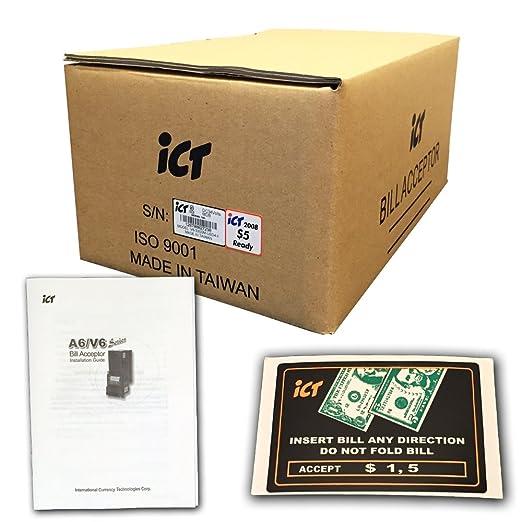 ICT V6 (Standard) Bill Acceptor / Validator V6-33SOM-USD4-II