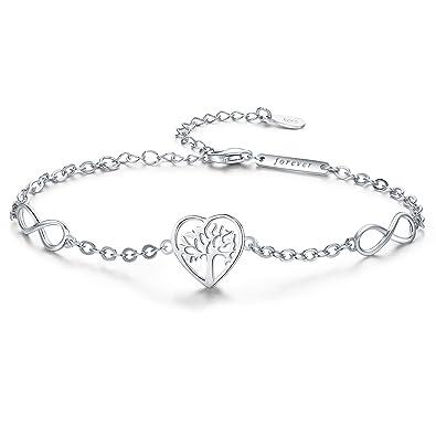 Stirling Silver Childs Heart Link Design Bracelet 925 UK Made