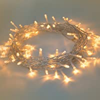 Fairy Lights, Syhonic 10M Battery Waterproof Fairy Lights LED String lights with 80 Warm White LEDS 8 Lighting Modes for Outdoor Garden Bedroom Wedding Party Christmas Decoration