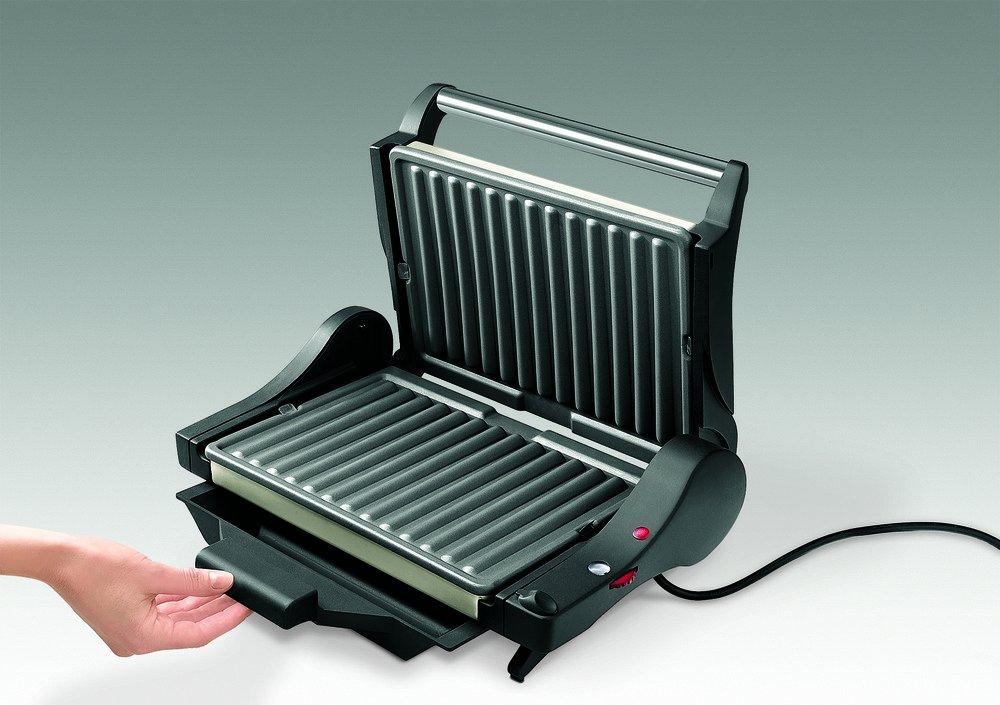 DeLonghi CG 4001 - Parrilla, 1600 W, 1 termostato