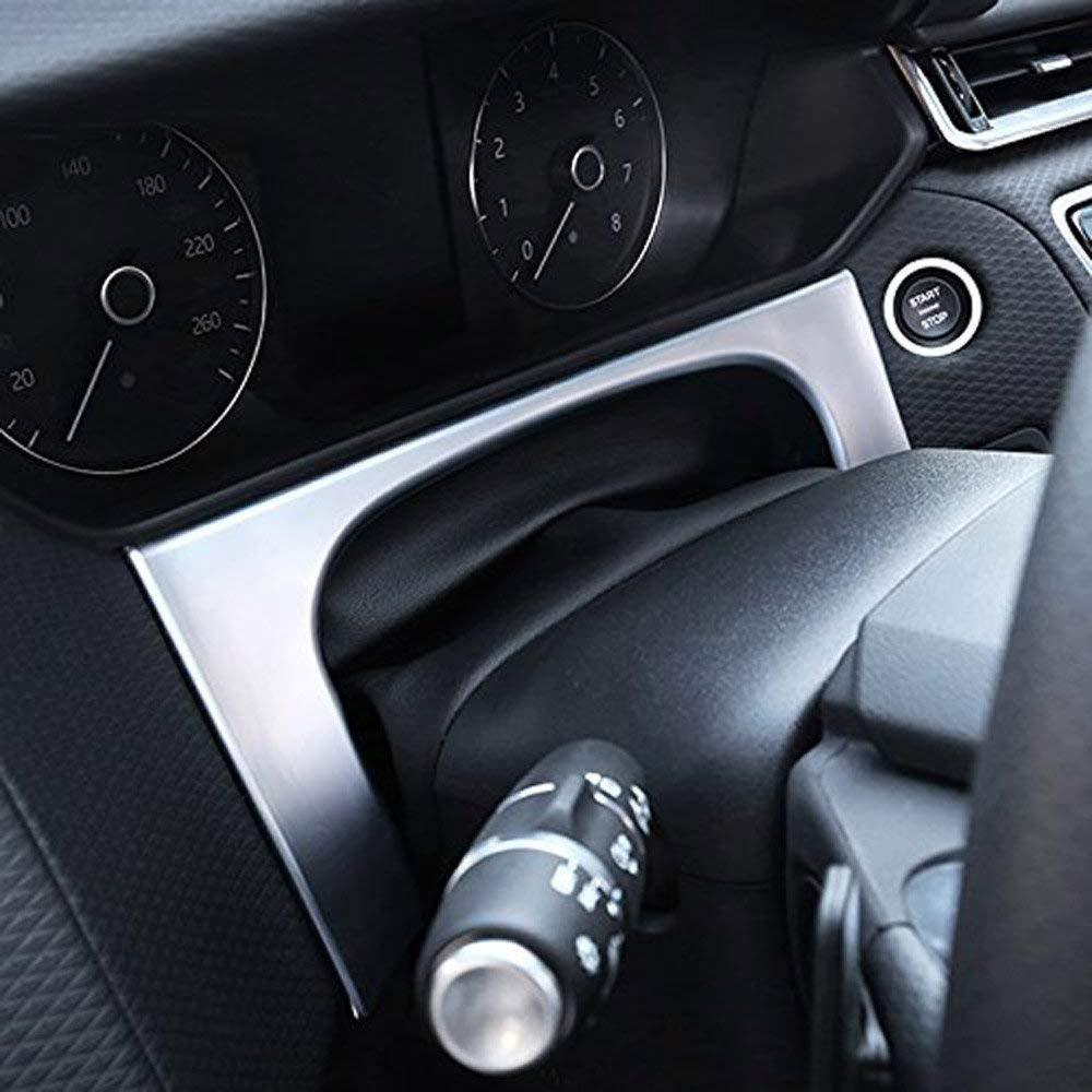 ABS Dashboard Frame Cover Trim Accessori auto Decorazione per RR Velar 2017 2018 Matte Silver Auto-broy