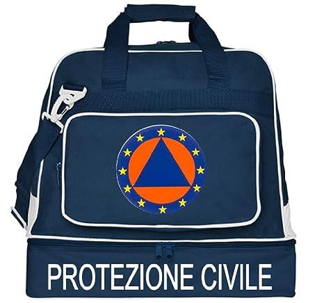 borsoni protezione civile con vano per scarpe