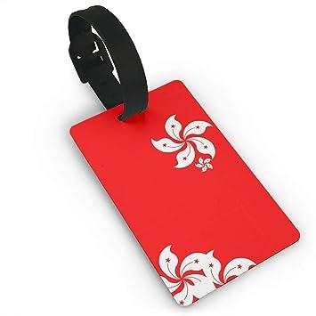 Amazon com: YGXDPM Originality Hong Kong Flag Luggage Tag
