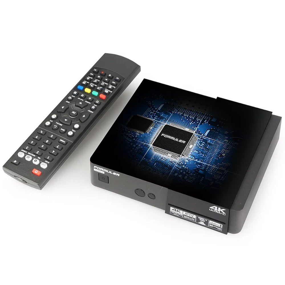 formuler S Mini 4 K Ultra HD Sat - Receptor IPTV Next-Generation 4 K UHD Satellite & Media Receiver: Amazon.es: Electrónica