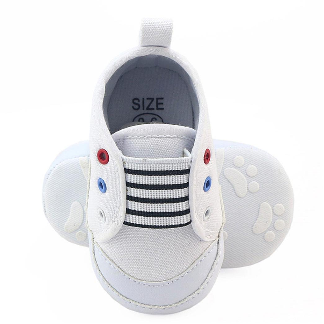 Voberry Kids Toddler Canvas Sneaker Boys Girls Soft Sole Slip-on Shoes