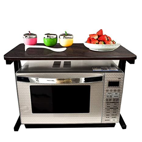 Akway Kitchen Rack 23.6inch Microwave Oven Stand Kitchen Cabinet And  Counter Shelf Organizer Spicy Shelf
