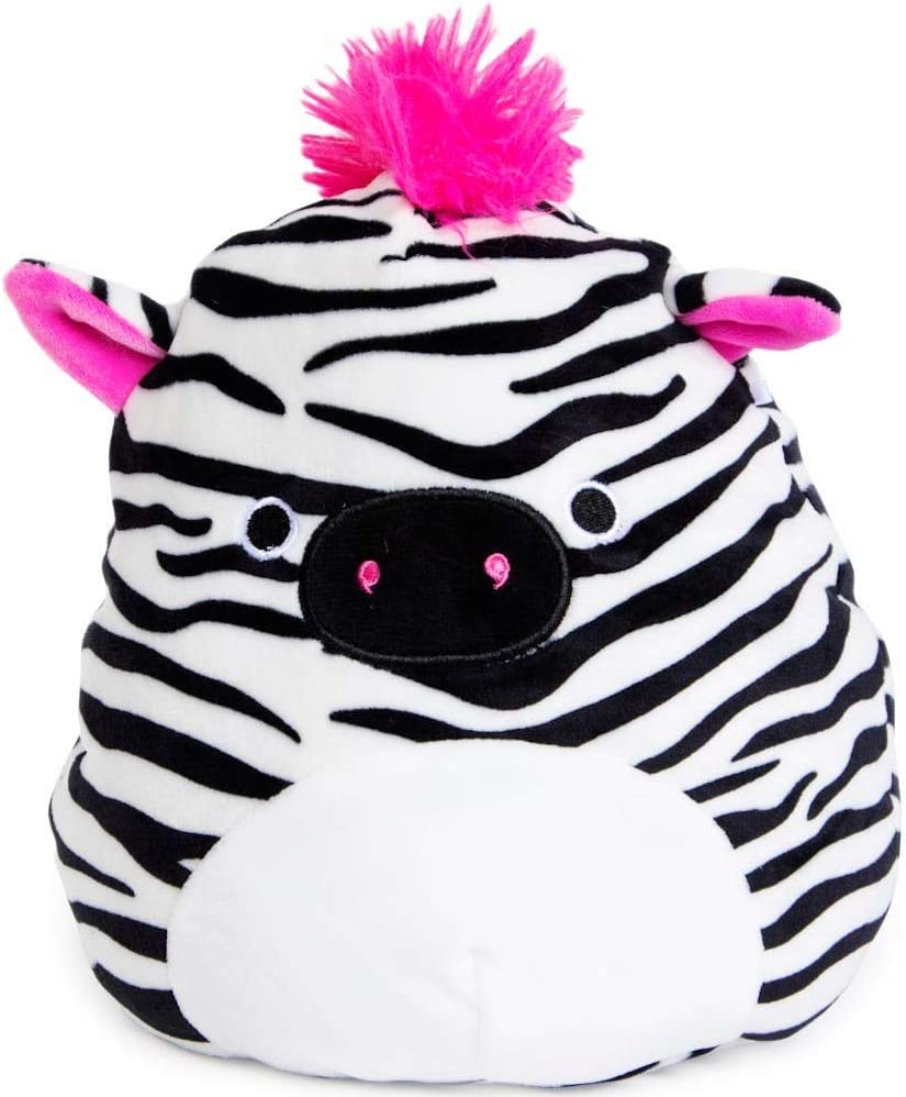 "Squishmallow Kellytoy 8"" Tracey The Zebra New Assortment 3- Super Soft Plush Toy Animal Pillow Pal Pillow Buddy Stuffed Animal Birthday Gift Holiday"