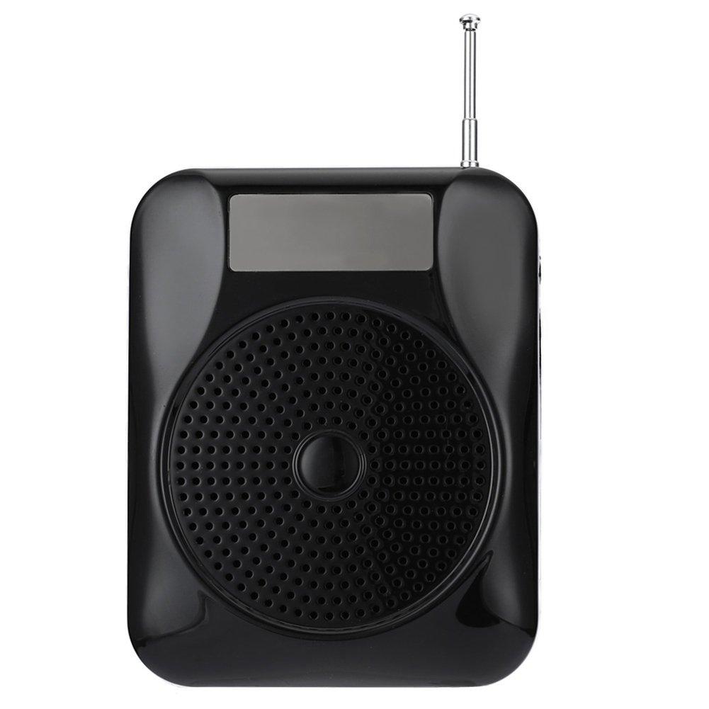 Puremood Megaphone Multi-functional Megaphone Player With Radio Headset FM Radio Speaker Voice Amplifier