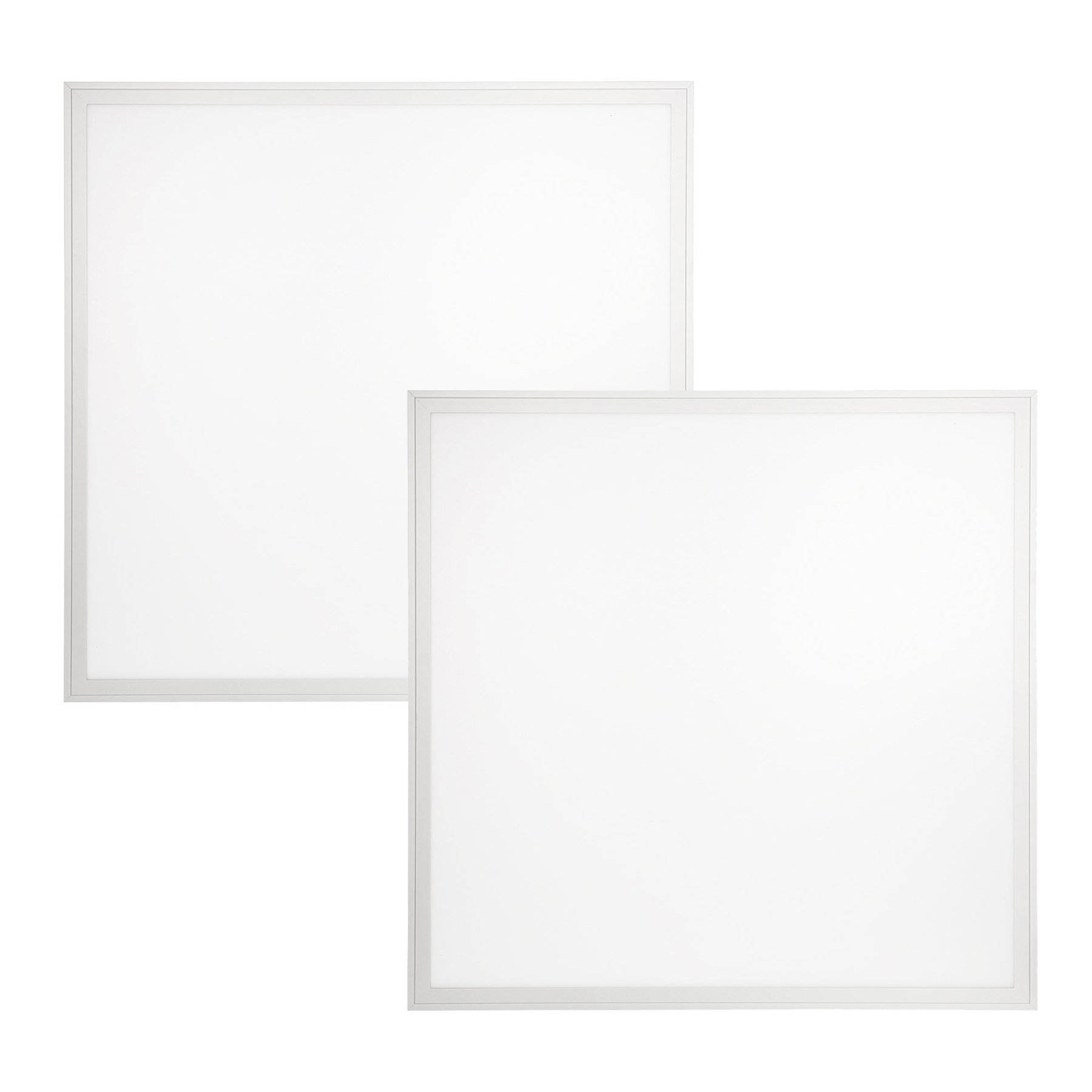 2-Pack, 2ft. x 2ft. LumeGen LED Dimmable Flat Panel - Title 24 Compliant - 40W, 4400 Lumens, 4000K Soft White