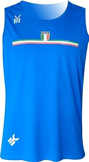 recogido nuevo estilo originales Ekeko Italia, Camiseta de Tirantes para Running, Atletismo y Deportes de  Playa, Muy Transpirable y Ligera