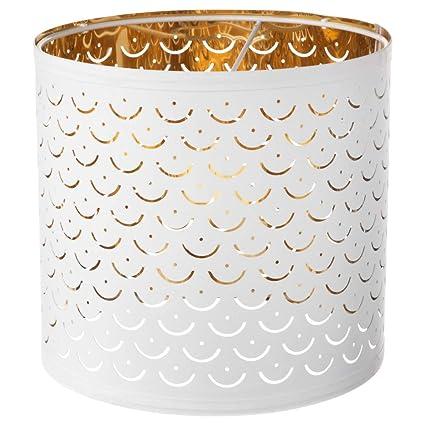 Ikea 103.772.00 Nymo - Lámpara de Techo, Color latón Blanco ...