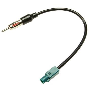 Adapter-Universe® Adaptador de Antena Fakra macho DIN Antena conector cable adaptador: Amazon.es: Electrónica