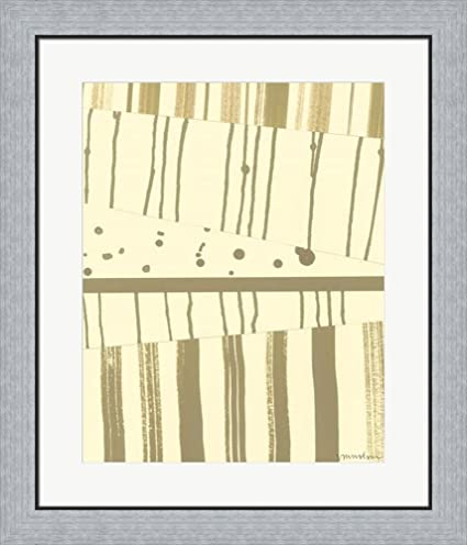 Amazon.com: Papyrus Collage I by Vanna Lam Framed Art Print Wall ...