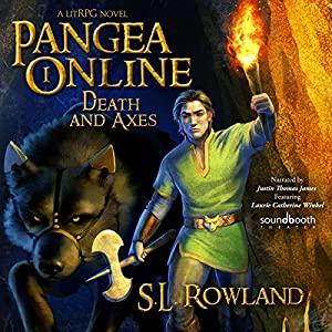 Pangea Online Book One: Death and Axes: A LitRPG Novel Hörbuch