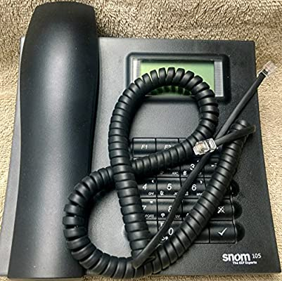 345 370 /& 375 315 320 Handset Curly Cord for SNOM IP Phones 300 360 305