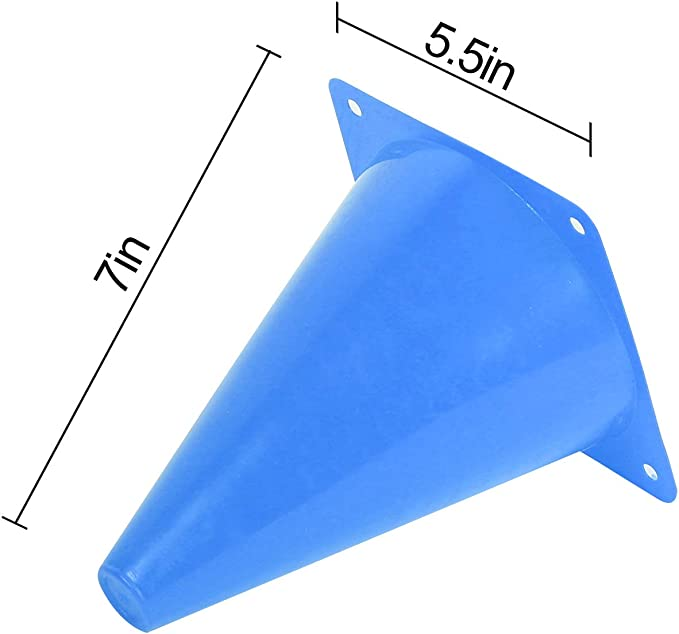 Details about  /Soccer Training Cone Number 0-9 Football Marking Discs 23cm Soccer for Skating
