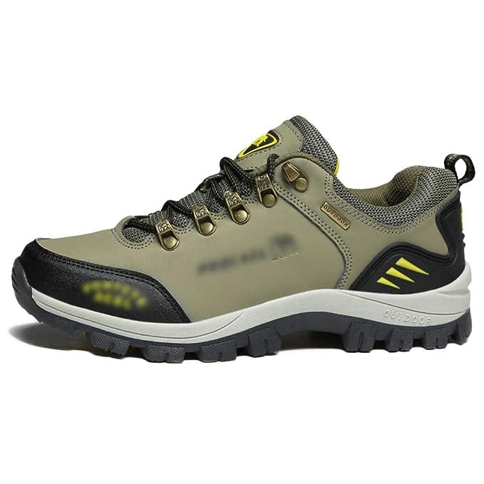Zapatillas De Trekking Antideslizantes Para Hombre Zapatos De Escalada Al Aire Libre Zapatillas De Senderismo Transpirables Zapatillas: Amazon.es: Ropa y ...