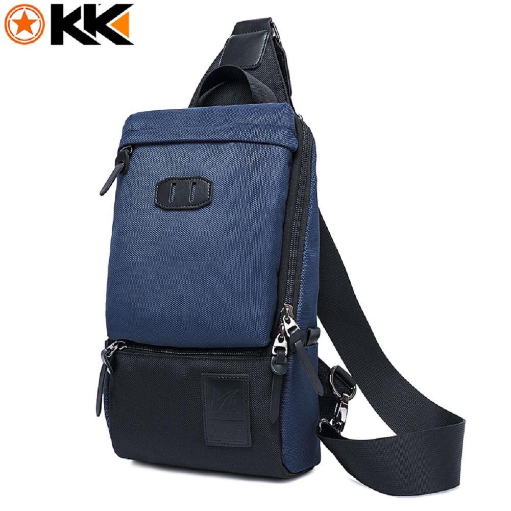 f35eec17f46c Chest Pack Bag Nylon Waterproof Anti Theft Shoulder Bag Multifunction Travel  Crossbody Bags 80%OFF